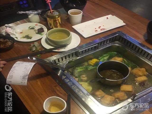 在潮牛火锅吃出异物,店长说了一句对不起,就走掉了