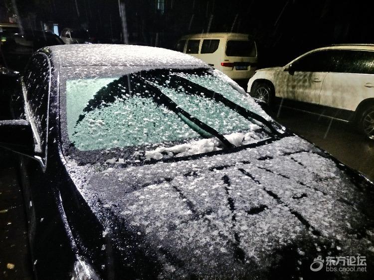 2018宁波第一场雪!
